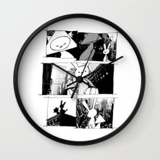 minima - vue Wall Clock