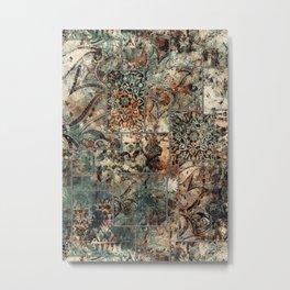 Patchwork Metal Print