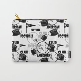 American football 1 Carry-All Pouch