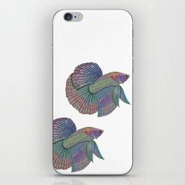 A Beautiful Betta Fish iPhone Skin
