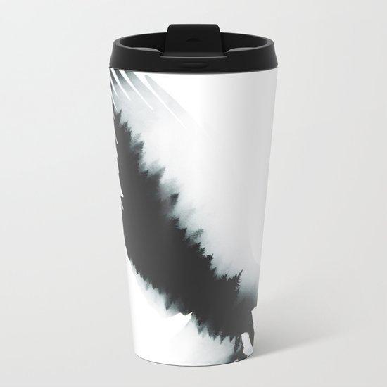 The crow Metal Travel Mug