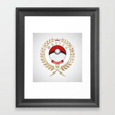 PokéMaster Framed Art Print