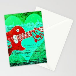 Guitar Love Stationery Cards
