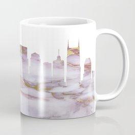 Nashville Tennesse Skyline Coffee Mug