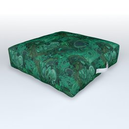 malachite Outdoor Floor Cushion