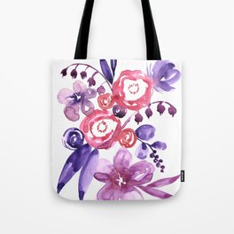 "Floral abstract bouquet ""Emma"" Tote Bag"