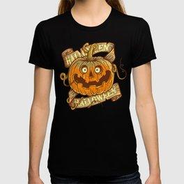 Halloween dark khaki T-shirt