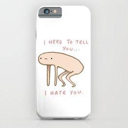 Honest Blob - Hate iPhone Case
