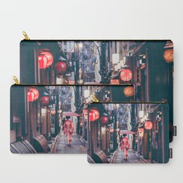 Geisha In Kyoto Carry-All Pouch