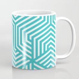 Maximum blue green - heavenly - Minimal Vector Seamless Pattern Coffee Mug