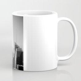 Manhattan - Empire State Building Panorama | B/W Coffee Mug