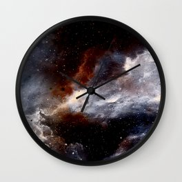 Dust, hydrogen, helium and other ionized gases Wall Clock