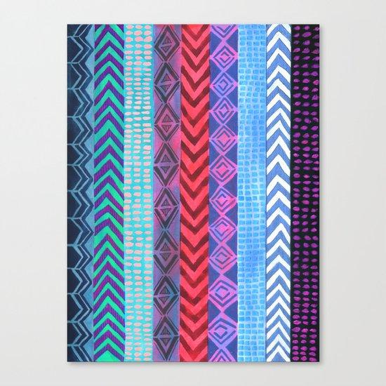 PATTERN {Peru Stripe} Canvas Print