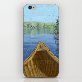 canoe bow iPhone Skin