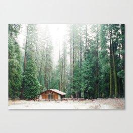 California Cabin Canvas Print