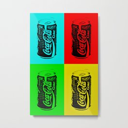 Cold Refreshment Metal Print