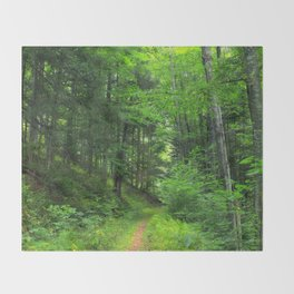 Forest 5 Throw Blanket