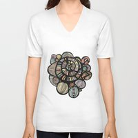 dreamer V-neck T-shirts featuring Dreamer by Sarah Doherty