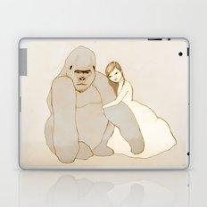 Gorilla and Girl Laptop & iPad Skin