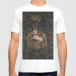Unicorn Magical Animal Medieval Art T-shirt