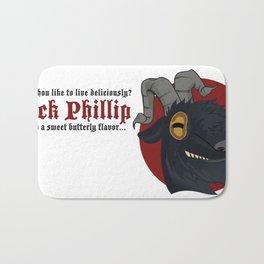Black Phillip Bath Mat