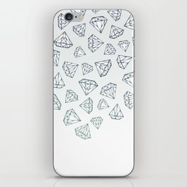 Diamond Shower iPhone Skin