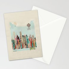 visit san francisco Stationery Cards