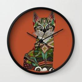 pixiebob kitten sienna Wall Clock