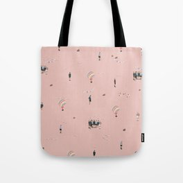 BTS Young Forever Pattern - Pink Tote Bag