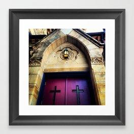 Entrance to Salvation Framed Art Print