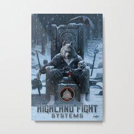 Highland Fight System Metal Print