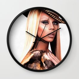 Cowboy Rupaul Wall Clock