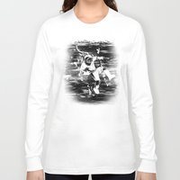 diver Long Sleeve T-shirts featuring Diver by ghoste
