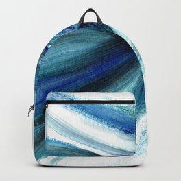 Blue Betta Fish Backpack