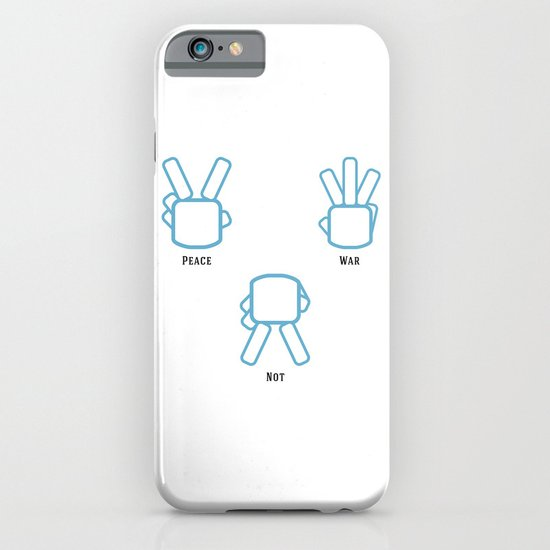 Peace Not War iPhone & iPod Case