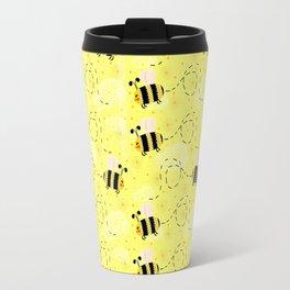 Bumble Bee Buzz Travel Mug