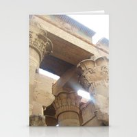 egypt Stationery Cards featuring Egypt by Carissa W.