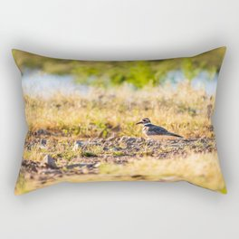 The Killdeer Rectangular Pillow