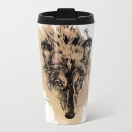 Solitude is independence Travel Mug