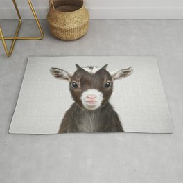 Baby Goat - Colorful Rug