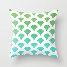 Cool Scales Throw Pillow
