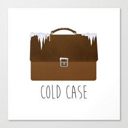 Cold Case Canvas Print