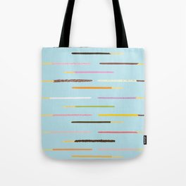 21 Flavors of Pocky - blue Tote Bag