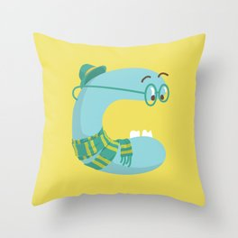 letter C Throw Pillow