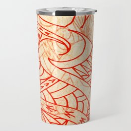Layered Tapa Travel Mug