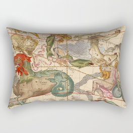 Star Atlas Vintage Constellation Map Ignace Gaston Pardies Rectangular Pillow