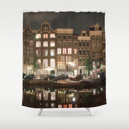 Amsterdam - Prinsengracht Shower Curtain