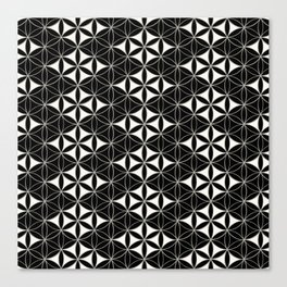 Flower of Life Pattern 12 Canvas Print