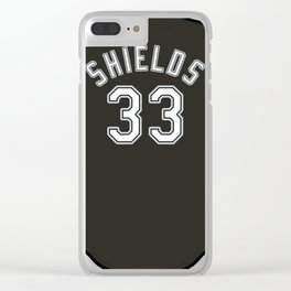 James Shields Jersey Clear iPhone Case
