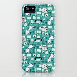 BMO patterns iPhone Case